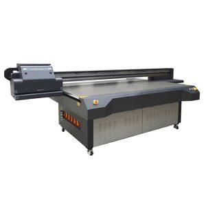2.5m * 1.3m yuqori belgilangan ricoh gen 5 raqamli Uv flatbed shisha printer