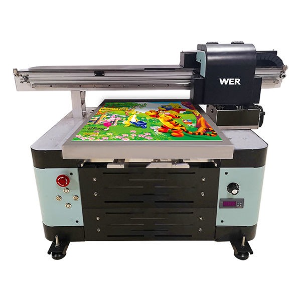 raqamli mashina a2 uv flatbed printerni qo'llab-quvvatlaydigan xorijga