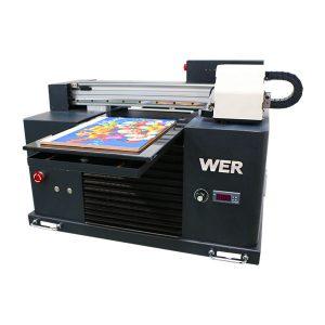 a3 uv printer, rivojlangan kichik o'lchamli avtomatik uv flatbed printer
