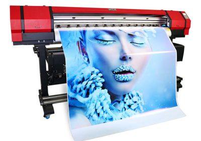 1.6m outdoor indoor eco solvent kichik pvc vinil printer