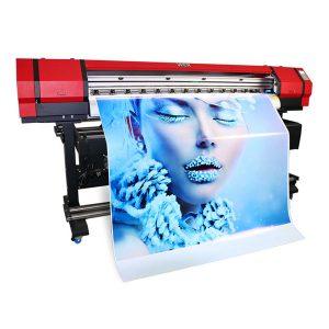 1.6m teri mashinasi flex kirish Ro'yxatdan tekis mato yirik format eko solvent inkjet