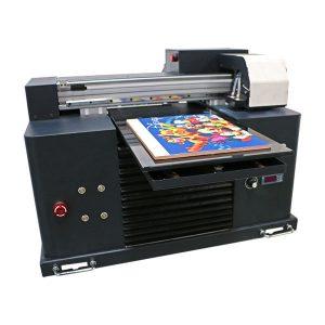 inkjet bosib chiqarish mashinasi a3 a4 o'lchamli flatbed uv printerini boshqargan