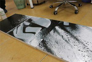 WER-G2513UV keng formatli UV printer yordamida chop etilgan billboard 2
