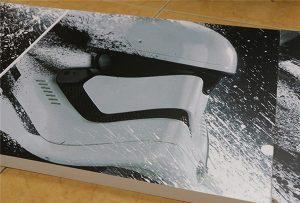 WER-G2513UV keng formatli UV-printer yordamida yozilgan billboard