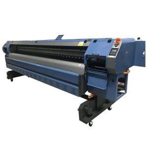 512i bosma boshli raqamli vinil flex banner solvent printer / bosib chiqarish mashinasi