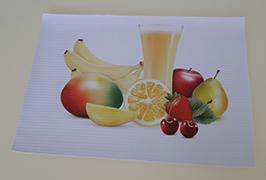 PVC banner 3.2 m (10 fut) eko solvent printer WER-ES3201 bilan bosildi