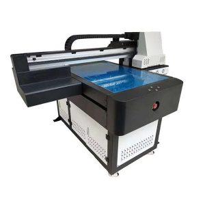 a1 6090 shishadan metall keramika yog'och kartochka materiallari uchun bevosita jet uv printer