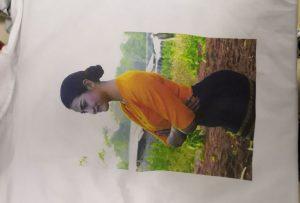 WM-EP6090T printeridan birma-bir mijoz uchun t-shirtalarni bosib chiqarish