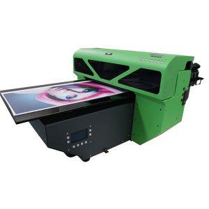 dx7 bosib chiqarish boshli raqamli A2 o'lchamli Uv flatbed printer