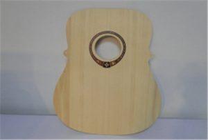 A2 o'lchamli Uv printeridan o'rmon gitarasi namunasi WER-DD4290UV